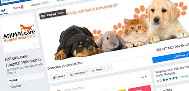 Animal Care Facebook